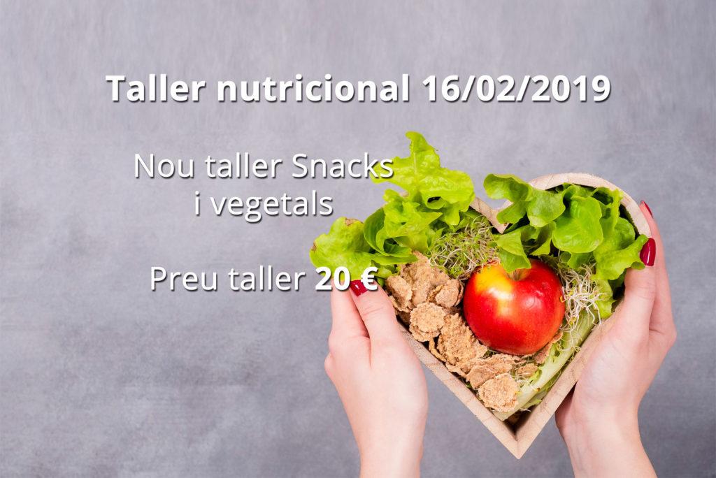 Taller nutricional 16/02/2019
